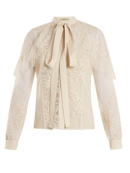 Elie Saab blouse lace top