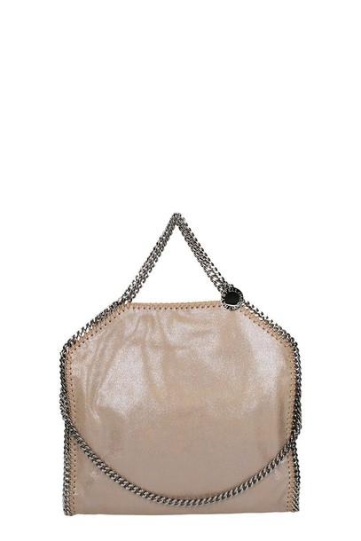 shiny leather bag