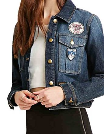 haoduoyi Womens Long Sleeve Denim Jean Jacket Coats Outerwear at Amazon Women's Coats Shop