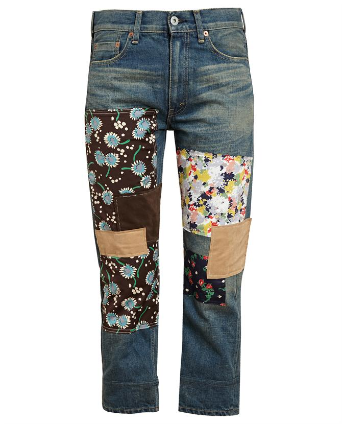 JUNYA WATANABE | Patchwork Denim Jeans | Browns fashion & designer clothes & clothing