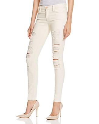J Brand Mid Rise Super Skinny Jeans in Divo | Bloomingdale's