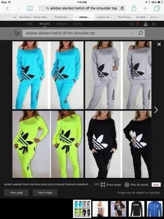 jumpsuit addidas over the shoulder tops