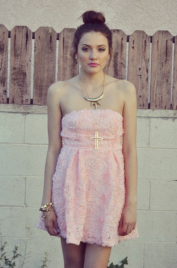 Luna Vintage — Rose BabyDoll Dress on Wanelo