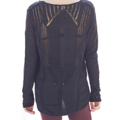sweater,knit,black,shirt,top,knitwear