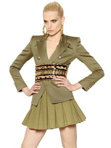JACKETS - BALMAIN -  LUISAVIAROMA.COM - WOMEN'S CLOTHING - FALL WINTER 2014