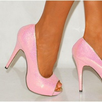 Baby Pink High Heels - Shop for Baby Pink High Heels on Wheretoget