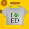 Ed sheeran crop top ed sheeran crop tee on storenvy