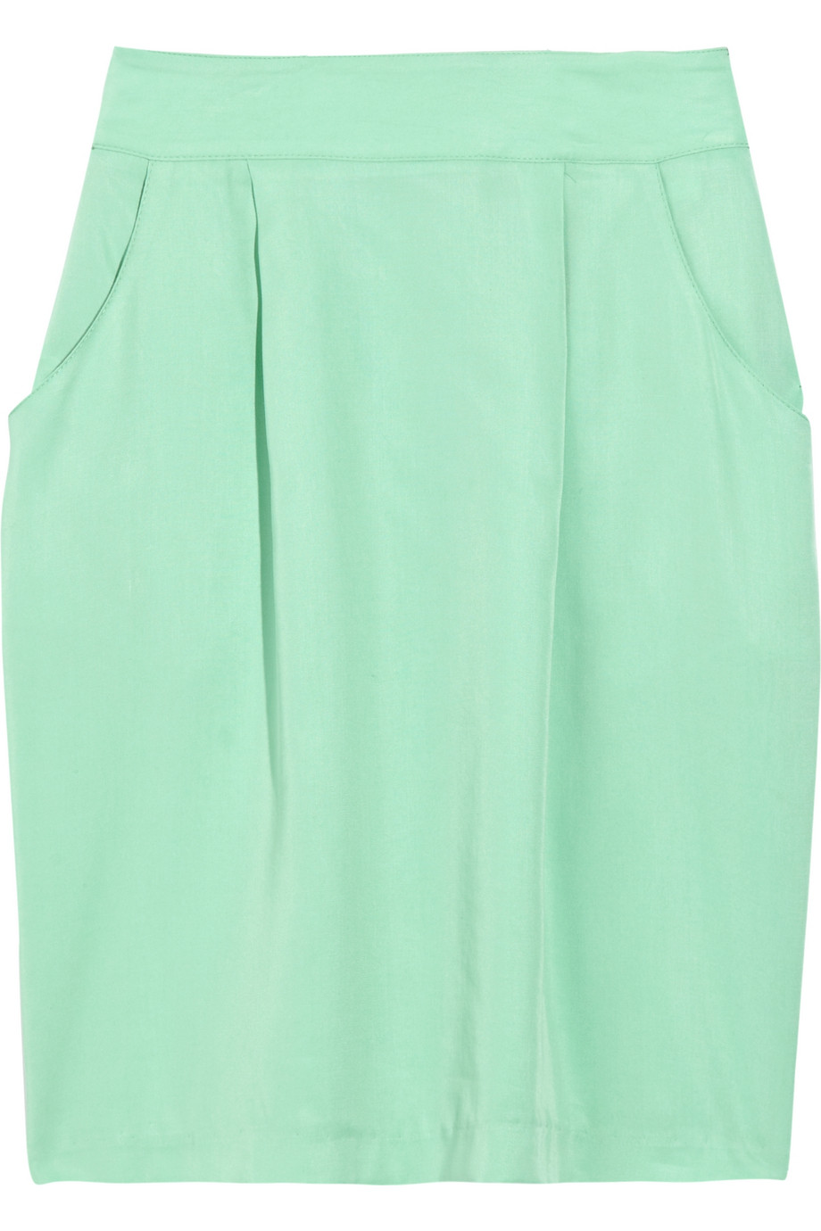 Discount adam crepe pencil skirt