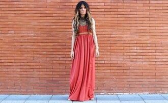 madame rosa blogger dress jewels