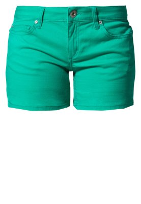 ONLY CARRIE - Jeans Shorts - peacock green - Zalando.de