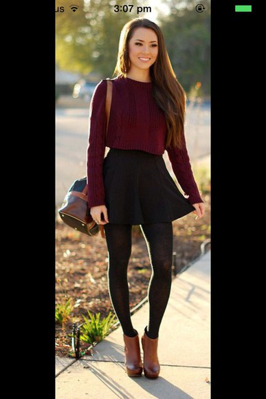 jumper top color shoes boots leather