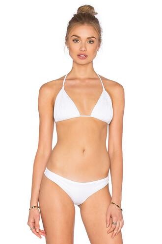 bikini bikini top white