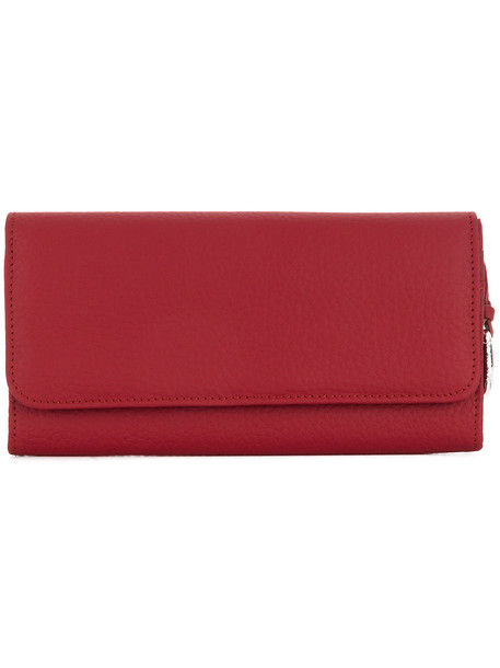 Zanellato - Continental purse - women - Leather - One Size, Red, Leather