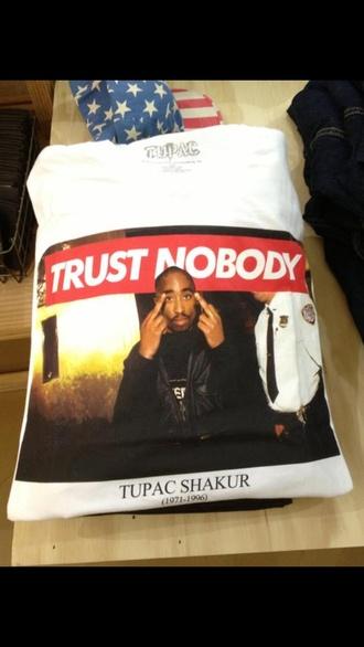 t-shirt dope tupac hat tupac shirt shirt fvkin