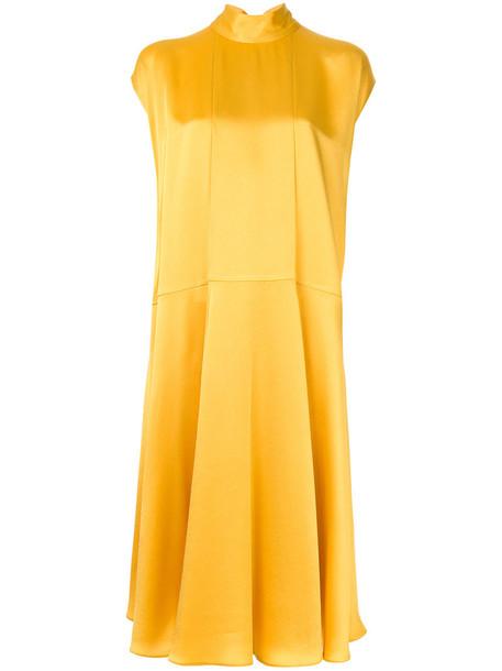 Valentino dress women yellow orange