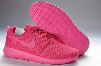 shoes rosheruns pink shoes nike shoes roshes