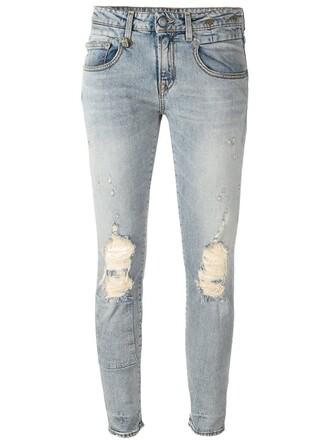 jeans cotton blue