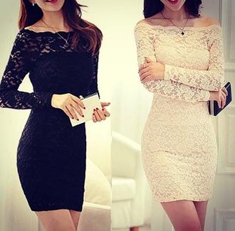 dress lace dress black white dress outfit black lace dress