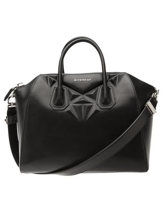 bag black leather handbag givenchy