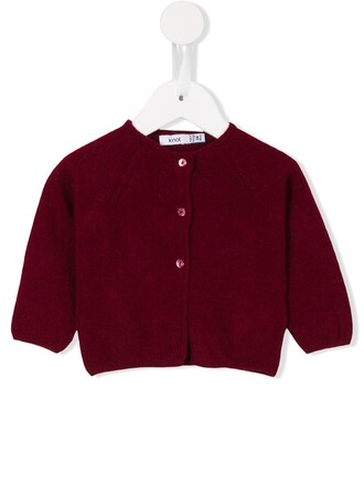 cardigan girl knit red sweater
