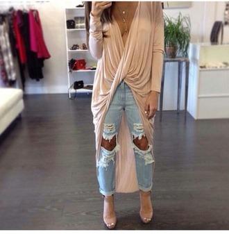 pants beige dress