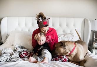 hello fashion blogger sweater pajamas pants