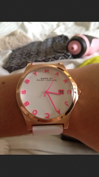 jewels marc by marc jacobs watch pink