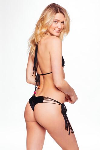 swimwear bikini bottoms black solkissed tie sides bikiniluxe