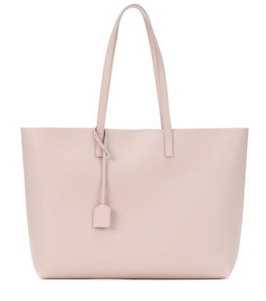 Saint Laurent leather pink bag