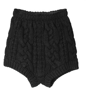Cable Knit Shorts - Stolen Girlfriends Club - Polyvore