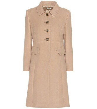 coat wool coat wool beige