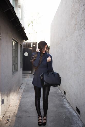 mint arrow blogger sweater leggings shoes bag high heel pumps pumps givenchy bag