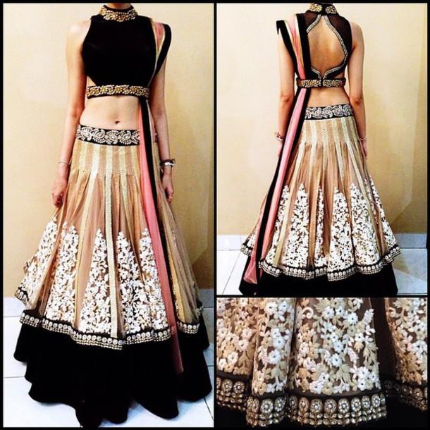 dress ghagra