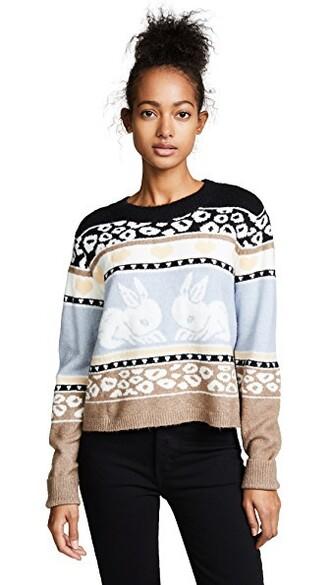 sweater bunny