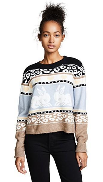Wildfox sweater bunny