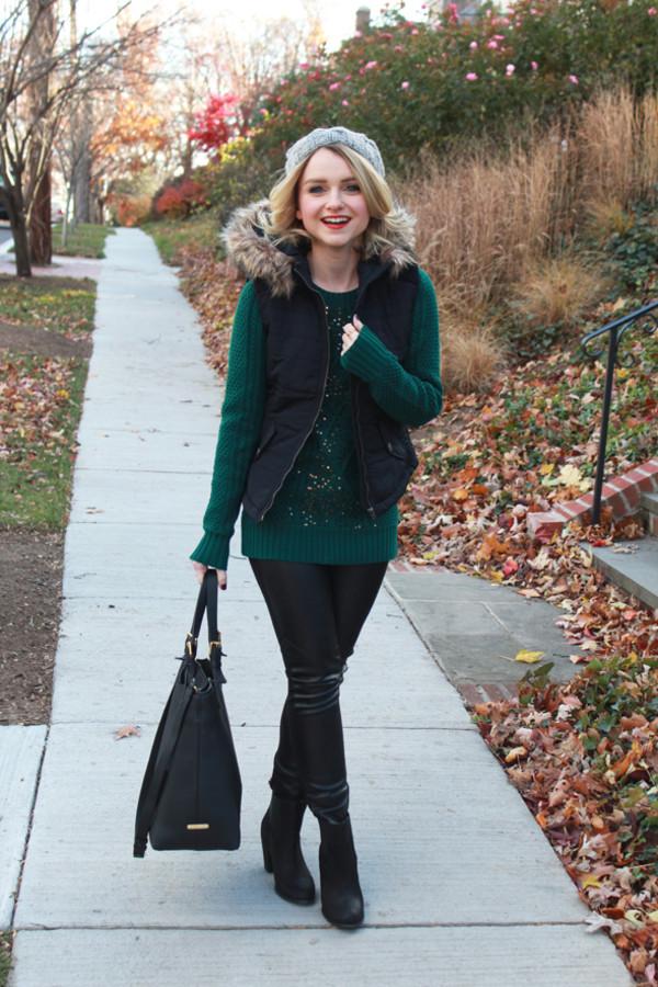 poor little it girl jacket sweater pants hat shoes bag