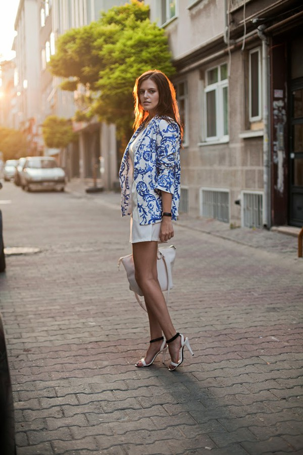 the bow-tie jacket romper jewels shoes bag