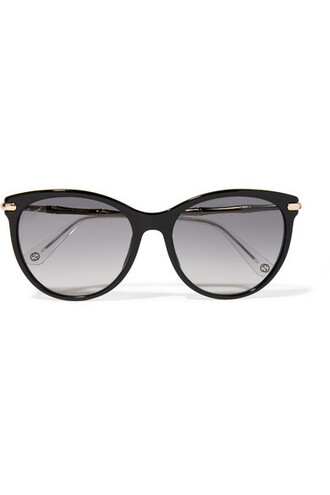 sunglasses gold black