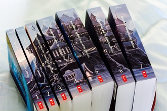 home accessory night sky harry potter book series