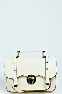 Joanna Small Cross Body Satchel Bag at boohoo.com