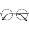 Harry potter inspired clear lens round frame glasses