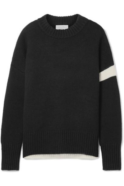La Ligne sweater varsity black