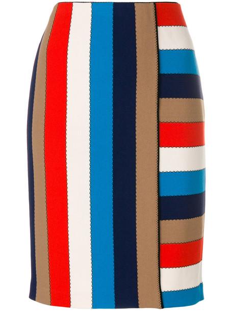 Marc Cain skirt striped skirt women