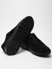 shoes,nike,nike shoes,nike air,nike air max 1,black