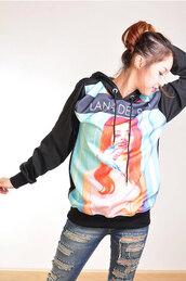 lana del rey,sweater,pop art,jacket
