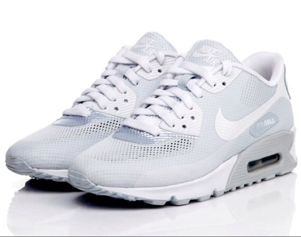 shoes air max white shoes nike sneakers white sneakers nike air max 90  hyperfuse