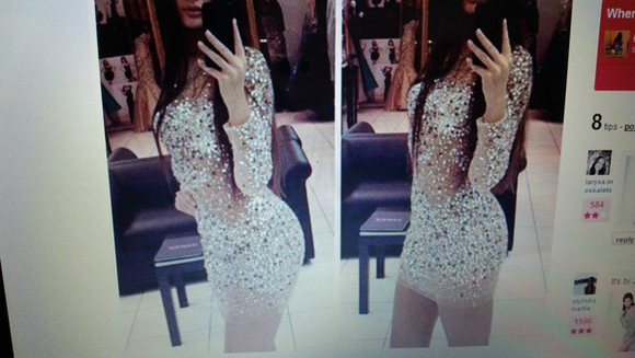 girl clothes nude hot sparkly dress shiny glitter dress nude dress glitter little