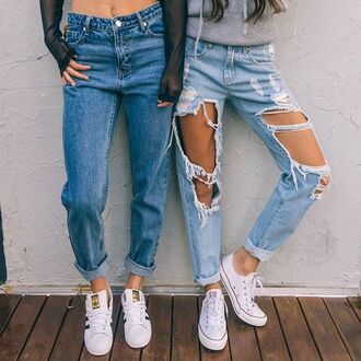 jeans mom jeans ripped jeans high waisted jeans light washed denim