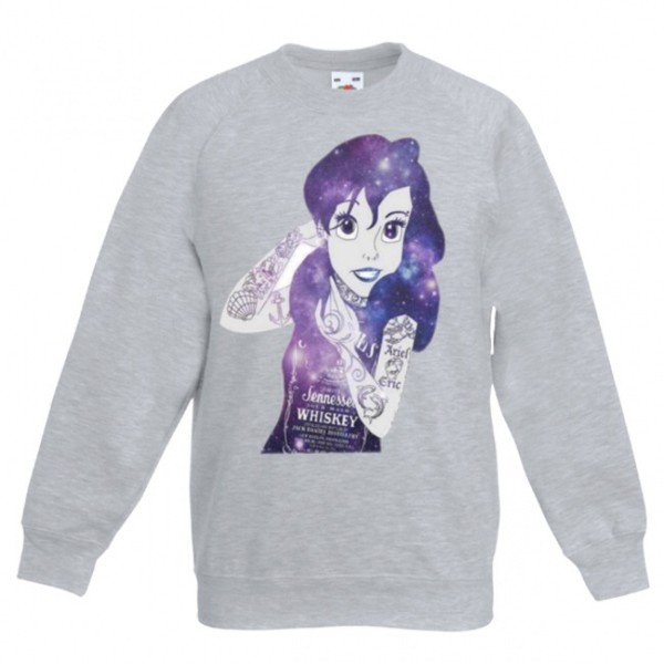 sweater the little mermaid the little mermaid disney disney sweater galaxy print