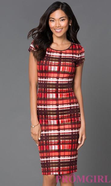 dress plaid bodycon dress plaid dress